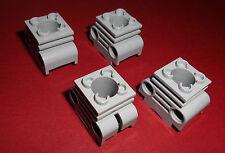 Lego (2850) 4 Zylinder-/Motorblöcke, in hellgrau aus 8653 8145 8674 8297 8439