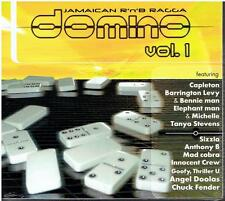 Various Artists ‎– Domino Vol.1 (+ Sizzla, Beenie Man) Jamaican R'n'B Ragga