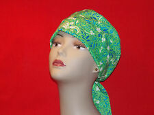 Pixie Surgical Scrub Hat Caps Women Ladies Medical Handmade