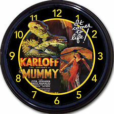 The Mummy Horror Movie Boris Karloff Wall Clock Classic Vintage Retro New 10""