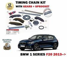 Per BMW 114d 116d 118d 120d 125d 2013 - > CAM TIMING CHAIN KIT + INGRANAGGI COMPLETO