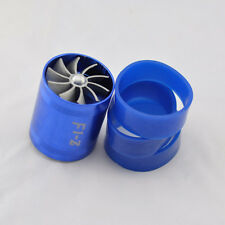 "Universal 3""x 2.5"" BLUE AIR TURBO INTAKE TORNADO FAN FUEL SAVER  ECO SAVES GAS"