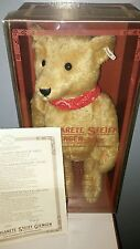 Steiff Teddy Bear 1980 100th Anniversary Limited Edition #2556 Of 5000 W Germany