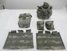 ACU Molle II 3 Mag Canteen Grenade IFAK First Aid Pouches Ammunition VGC