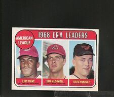 6575* 1969 Topps # 7 AL ERA Leaders NM-MT