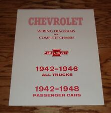1942 - 1948 Chevrolet Wiring Diagrams for Complete Chassis Cars & Trucks