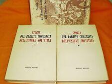 storia del partito comunista dell'unione sovietica con astuccio 1960