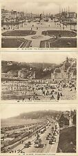 LOT 12 CARTES POSTALES LE HAVRE PLACE GAMBETTA - LE CASINO - BOULEVARD ALBERT I