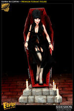 Sideshow Elvira In Coffin EXCLUSIVE Premium Format Figure