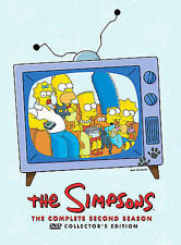 The Simpsons Complete 2nd Second Season 4-DISC DVD SET. #1-3
