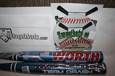 Worth Mayhem Team Drash Warfighter Softball Bat 34 27 NIW ASA SBMWFA Slowpitch