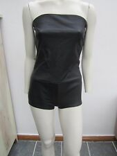 New Maison Margiela Stretch Leather Bodysuit
