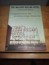 """WENDERS """"THE MILLION DOLLAR HOTEL"""" LIBRO SCENEGGIATURA ED. IL CASTORO 2000"""