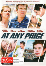 At Any Price * NEW DVD * Dennis Quaid Heather Graham Zac Efron