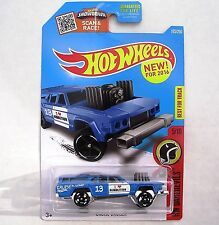 BLUE Cruise Bruiser. Demolition Derby Car. DHW97. HW Daredevils. New in Package!
