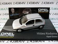 OPE129 1/43 IXO designer serie OPEL collection : CORSA B Hideo KODAMA