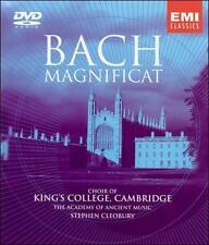 J.S. Bach Magnificat Kings College Cambridge Stehpen Cleobury DVD-Audio New