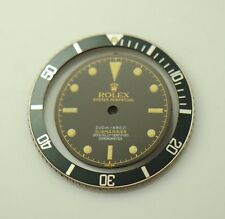 ROLEX REFINISHED 6538 SUBMARINER BLACK DIAL WITH BEZEL