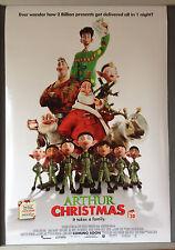 Cinema Poster: ARTHUR CHRISTMAS 2011 (Adv2 One Sheet) James McAvoy Jim Broadbent