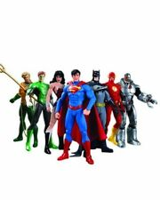 NEW SET7 Justice League Superman Batman Flash Aquaman DC Universe action Figures