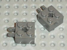 LEGO Star Wars OldDkGray hinge brick ref 40902 / Set 4482 4513 4588 4478 4589 ..