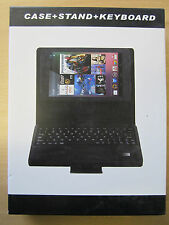 Bluetooth De Cuero llevar Keyboard Case Stand Para Asus Google Nexus 7 Tablet