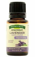 4 Pack Nature's Truth Aromatherapy Lavender Pure Essential Oil 0.51 Oz Each