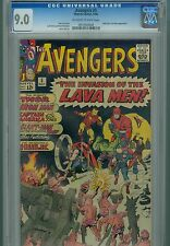 Avengers 5 CGC 9.0 Lava Men Infinity War Thor Hulk Iron Man Captain America Wasp