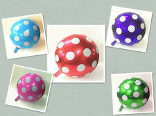 ♛ Shop8 : 1 pc POLKA DOT METALLIC FOIL BALLOON Theme Party Needs Decor