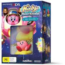 Kirby Planet Robobot Amiibo Bundle 3DS PAL Game *NEW* +Warranty!