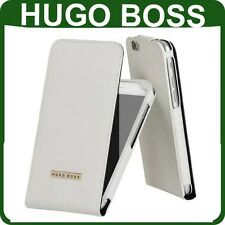 Genuine HUGO BOSS LEATHER FLIP CASE Apple iPhone 6 6s original book cover flap