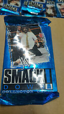 WWE WWF SMACKDOWN BRAND NEW SEALED 10 PACKS OF COLLECTORS 11 CARDS A PACK 1999