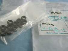 Lot of SMC Model:  RB08S Shock Absorber  Hex Nuts.  Qty. 11.  New Old Stock