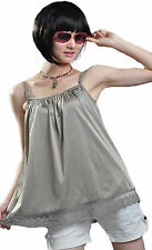 US Brand Radiation Safe Maternity  Cami Tank Baby Protection Shield Silver 0616