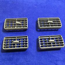 1997 - 2001 TOYOTA CAMRY DASH A/C AIR VENT INSERT BLUISH GRAY SET OF FOUR JPP