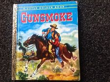 Gunsmoke by Seymour Reit Vintage 1974 Little Golden Book  illustrated