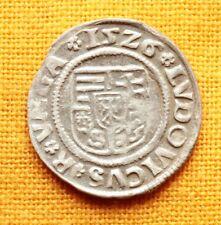 Medieval Hungarian Coin - II. Ludovicus Denar, 1526. KA, Madonna and Baby Jesus