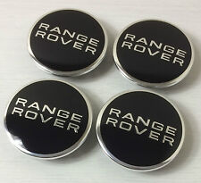 x4 LAND RANGE ROVER Alloy Wheel Badges Center HUB Caps 63mm EVOQUE SPORT L322