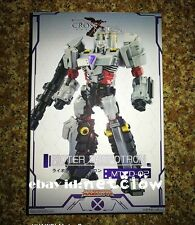 Transformers Maketoys MTCD-02 Rioter Megatron in Stock
