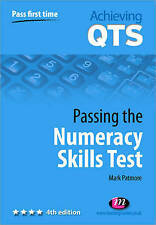 Passing the Numeracy Skills Test (Achieving QTS Series), Patmore, Mark Paperback