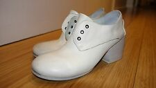 Marsell White Leather shoes size 6
