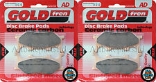 Yamaha XJ6N 600 Front Sintered Brake Pads 2009 Onwards - Goldfren - XJ6N-600