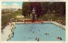 1930 MUNICIPAL SWIMMING POOL AND PLAYGROUNDS, OLEAN, N.Y.