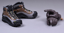 """1/6 Scale Army Boots Climbing Shoes Action Figure For 12"""" Doll With Hands A"""