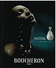 Publicité Advertising 2001 Parfum Initial par Boucheron