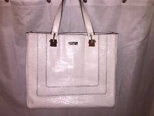 pre-loved auth  KATE SPADE one of a kind DESIGN SAMPLE croc leather TOTE $1200