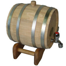 3 Liter NEW! NOW THICKER WOOD Europe Oak Rum Whiskey Barrel Beer Keg Wine Cask