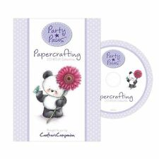 Crafters Companion PARTY PAWS Papercrafting COLLECTION MD1100 Bamboo CD-ROM