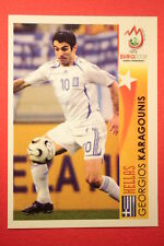 Panini EURO 2008 N. 483 KARAGOUNIS STAR EUROPEO NEW With BLACK BACK TOPMINT