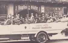 * BERLIN - Photopostcard - Luxus Auto Wallroth's Rundfahrten